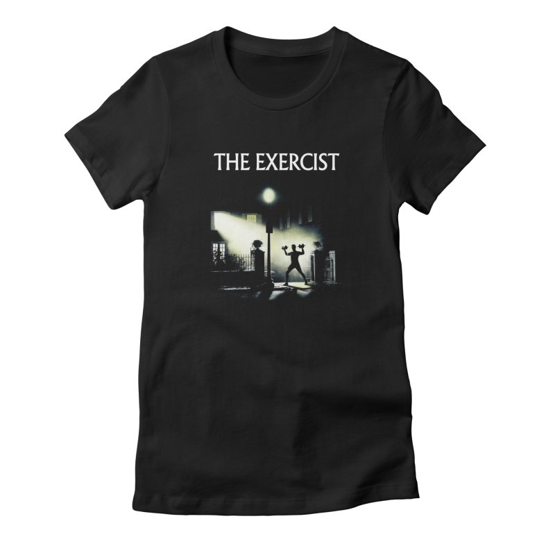 The Exercist Women's T-Shirt by Joe Conde