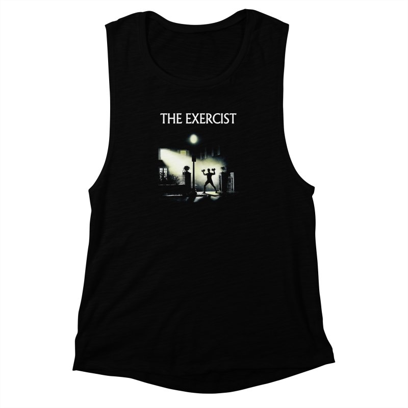 The Exercist Women's Muscle Tank by Joe Conde