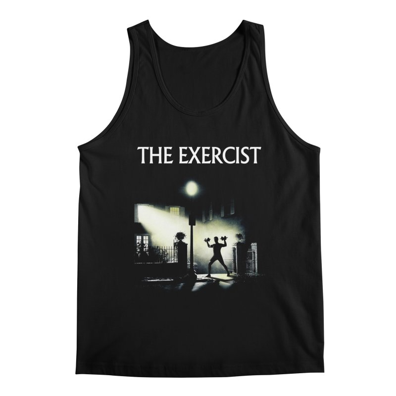 The Exercist Men's Regular Tank by Joe Conde