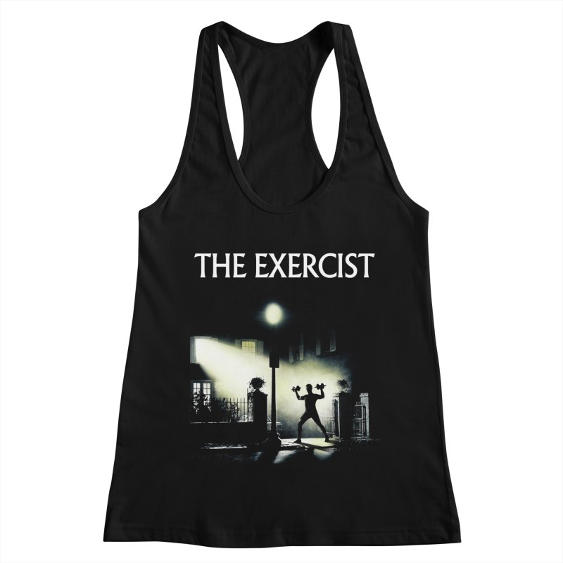 The Exercist Women's Tank by Joe Conde