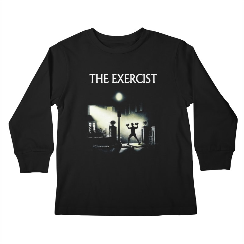 The Exercist Kids Longsleeve T-Shirt by Joe Conde
