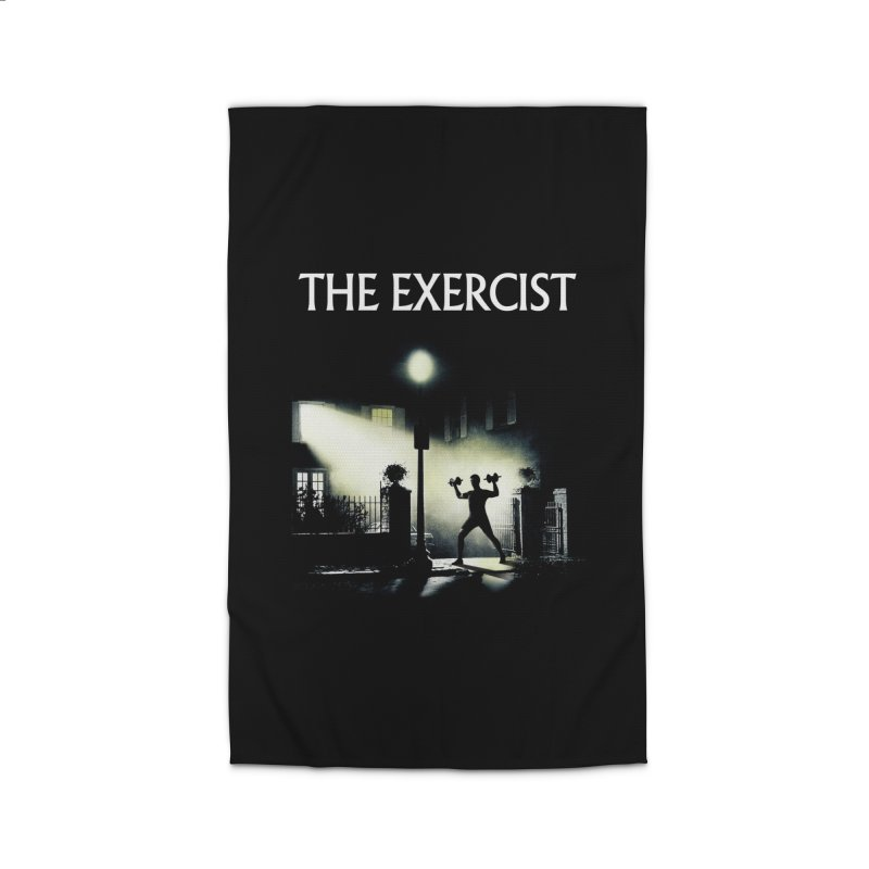 The Exercist Home Rug by Joe Conde