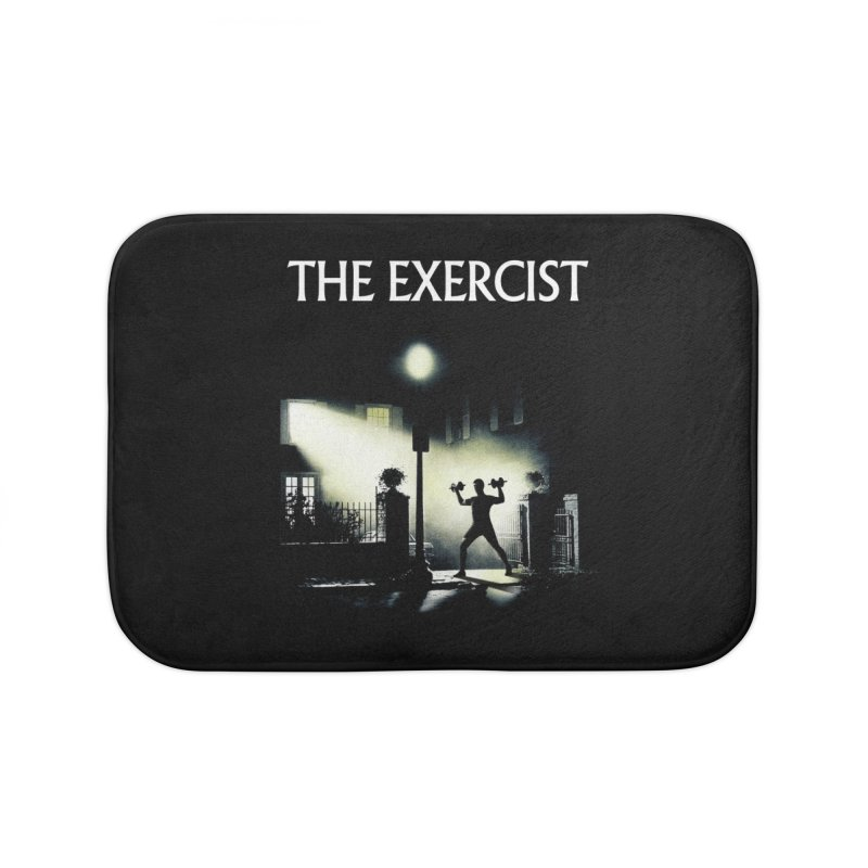The Exercist Home Bath Mat by Joe Conde