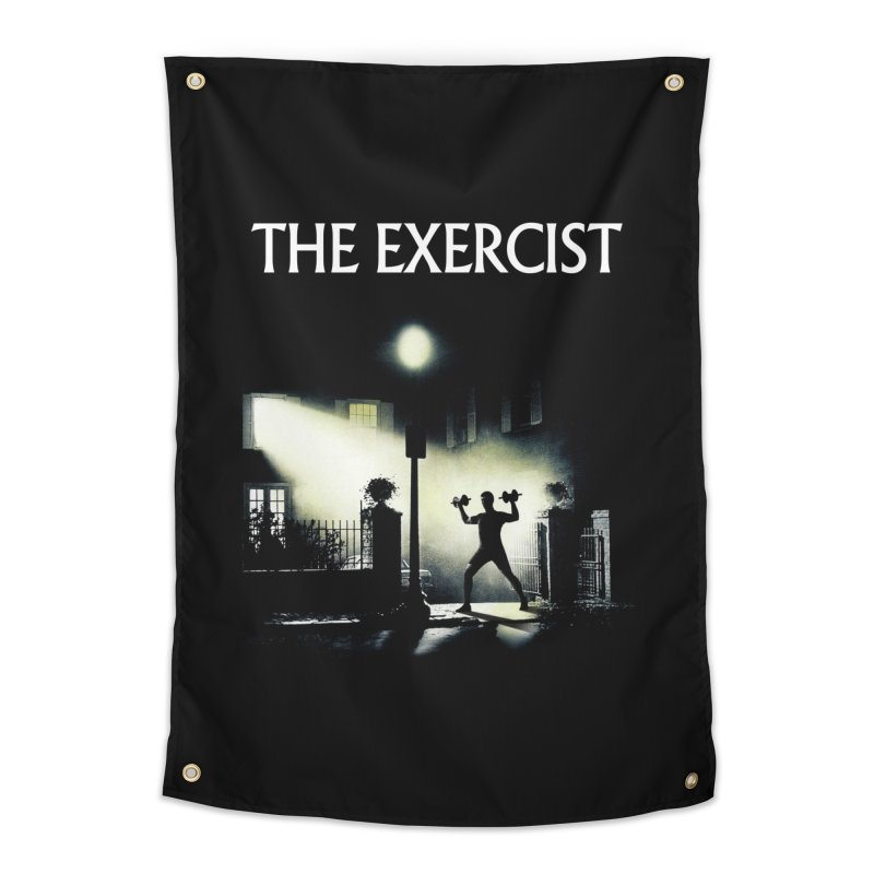 The Exercist Home Tapestry by Joe Conde