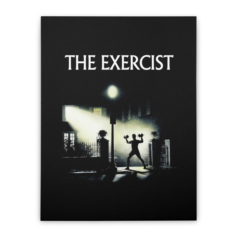 The Exercist Home Stretched Canvas by Joe Conde