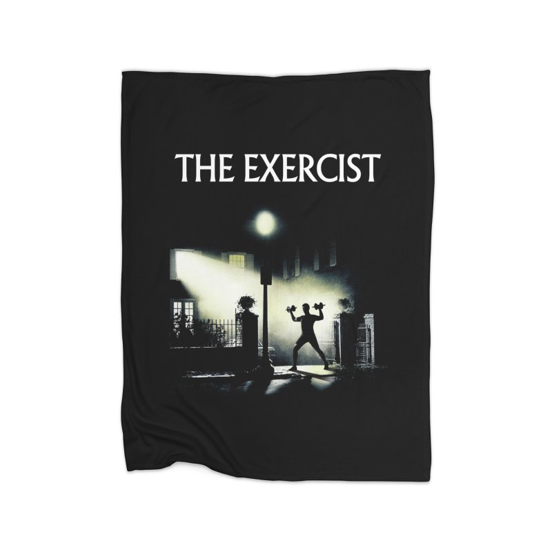 The Exercist Home Blanket by Joe Conde