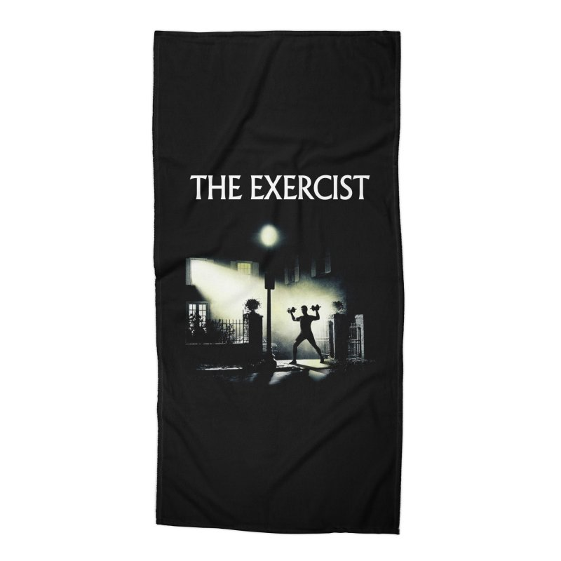 The Exercist Accessories Beach Towel by Joe Conde
