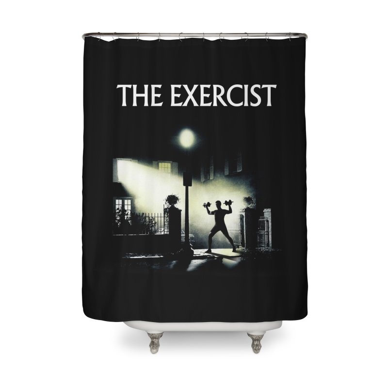 The Exercist Home Shower Curtain by Joe Conde