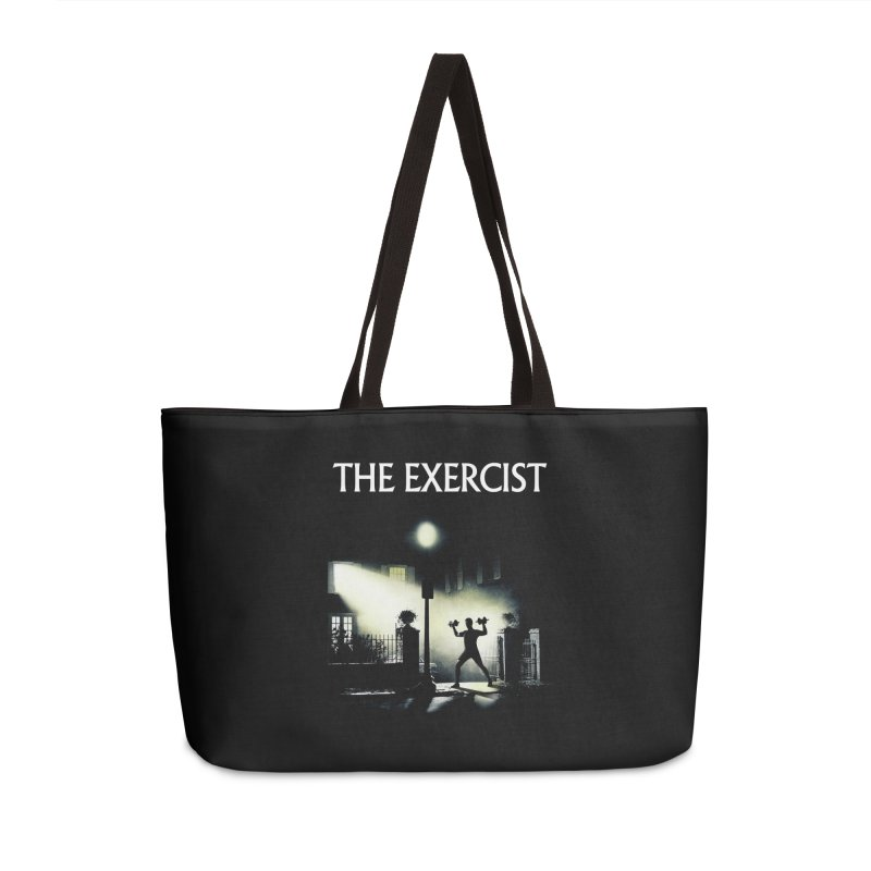 The Exercist Accessories Weekender Bag Bag by Joe Conde