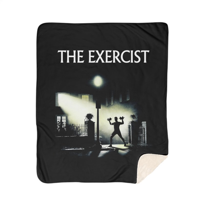 The Exercist Home Sherpa Blanket Blanket by Joe Conde