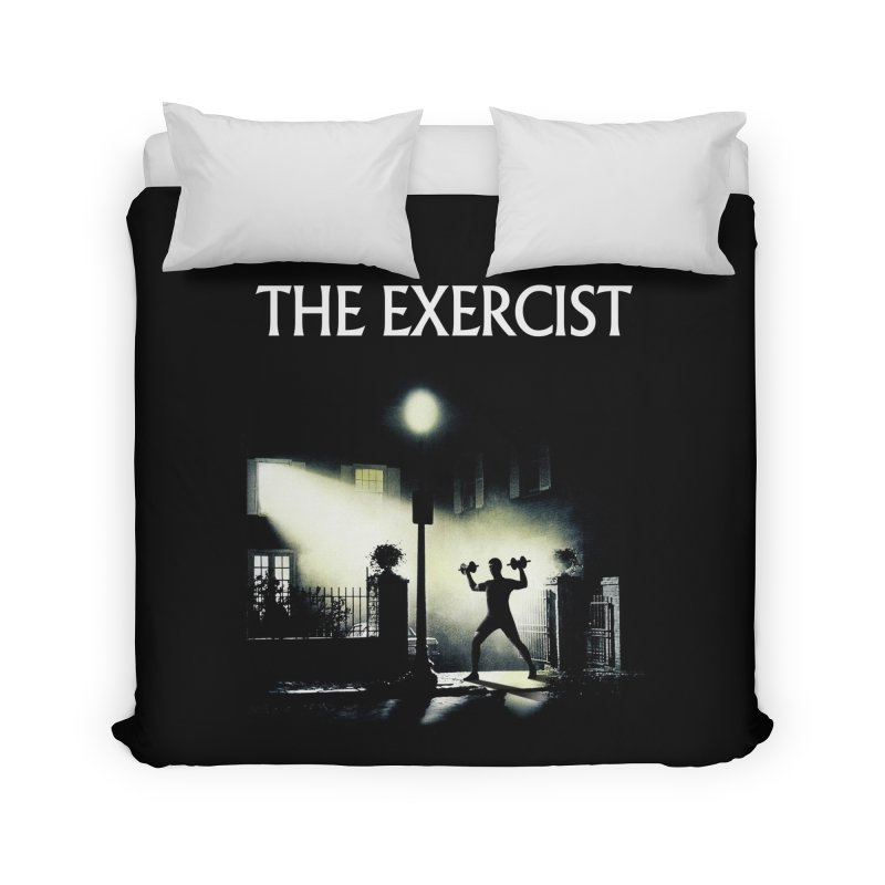 The Exercist Home Duvet by Joe Conde