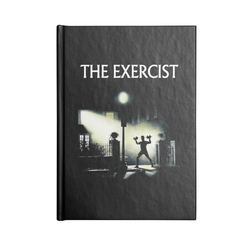 The Exercist Accessories Blank Journal Notebook by Joe Conde