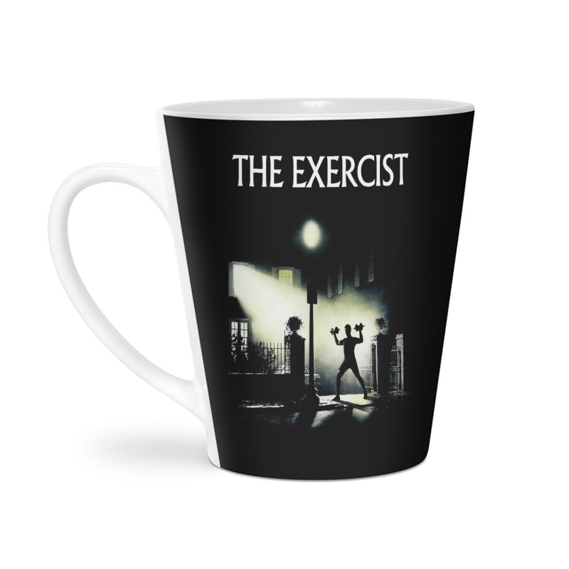 The Exercist Accessories Mug by Joe Conde