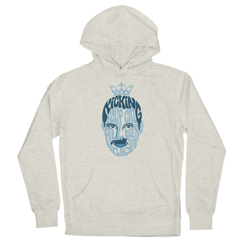 Kicking Your Cat All Over The Place Men's French Terry Pullover Hoody by Joe Conde