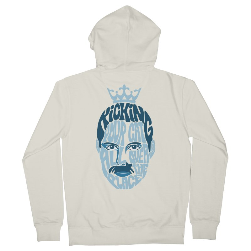 Kicking Your Cat All Over The Place Women's Zip-Up Hoody by Joe Conde