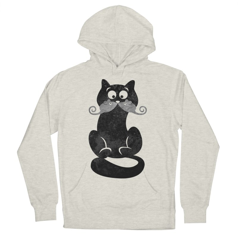 Mousetache Men's Pullover Hoody by Joe Conde