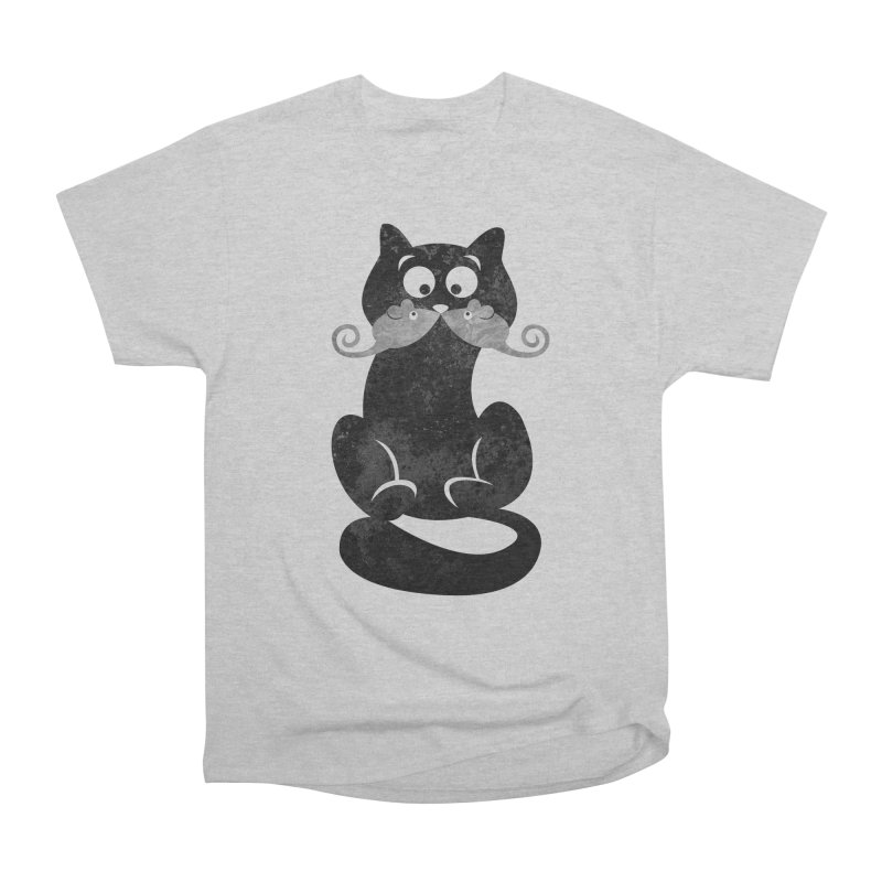 Mousetache Men's Heavyweight T-Shirt by Joe Conde