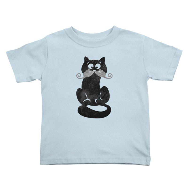 Mousetache Kids Toddler T-Shirt by Joe Conde