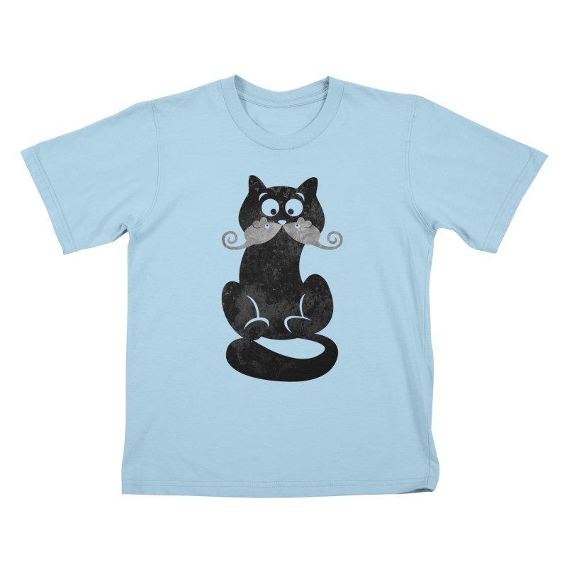 Mousetache Kids T-Shirt by Joe Conde
