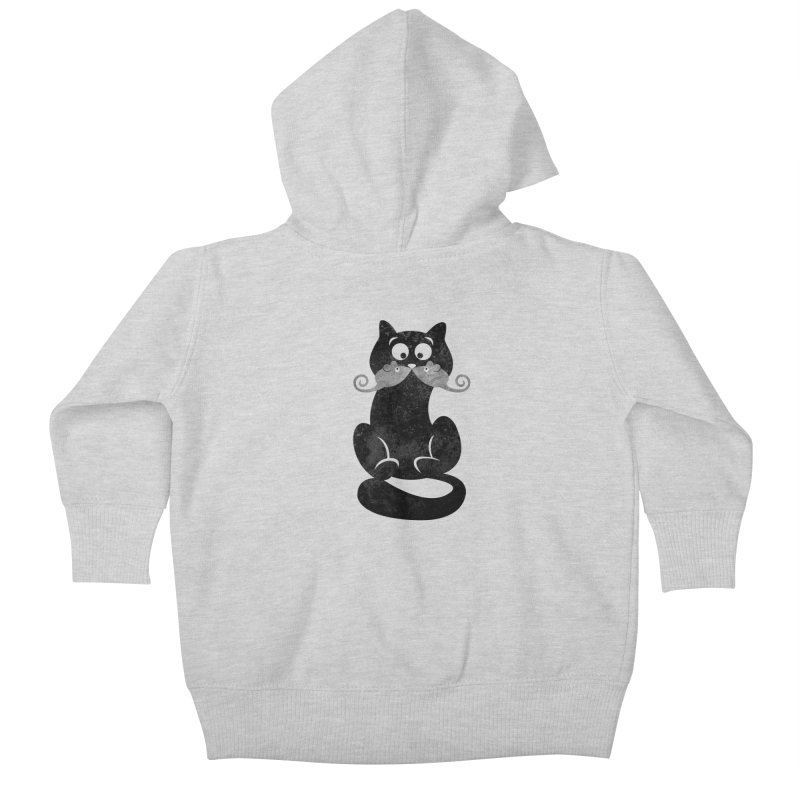 Mousetache Kids Baby Zip-Up Hoody by Joe Conde