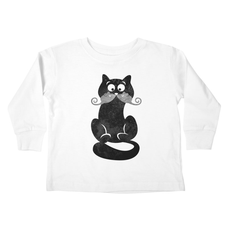 Mousetache Kids Toddler Longsleeve T-Shirt by Joe Conde