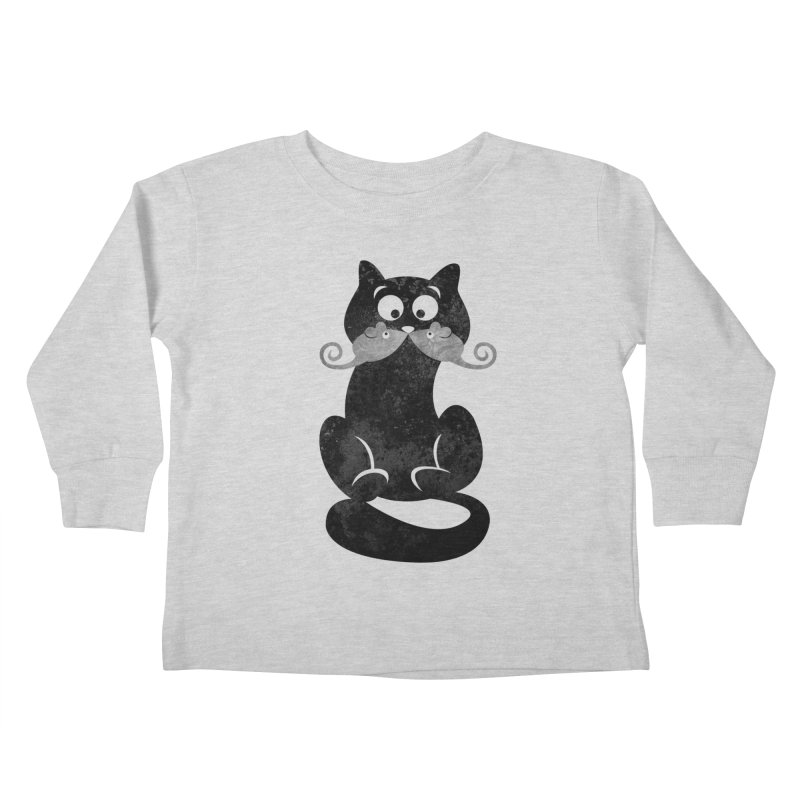 Mousetache Kids Toddler Longsleeve T-Shirt by Joe Conde