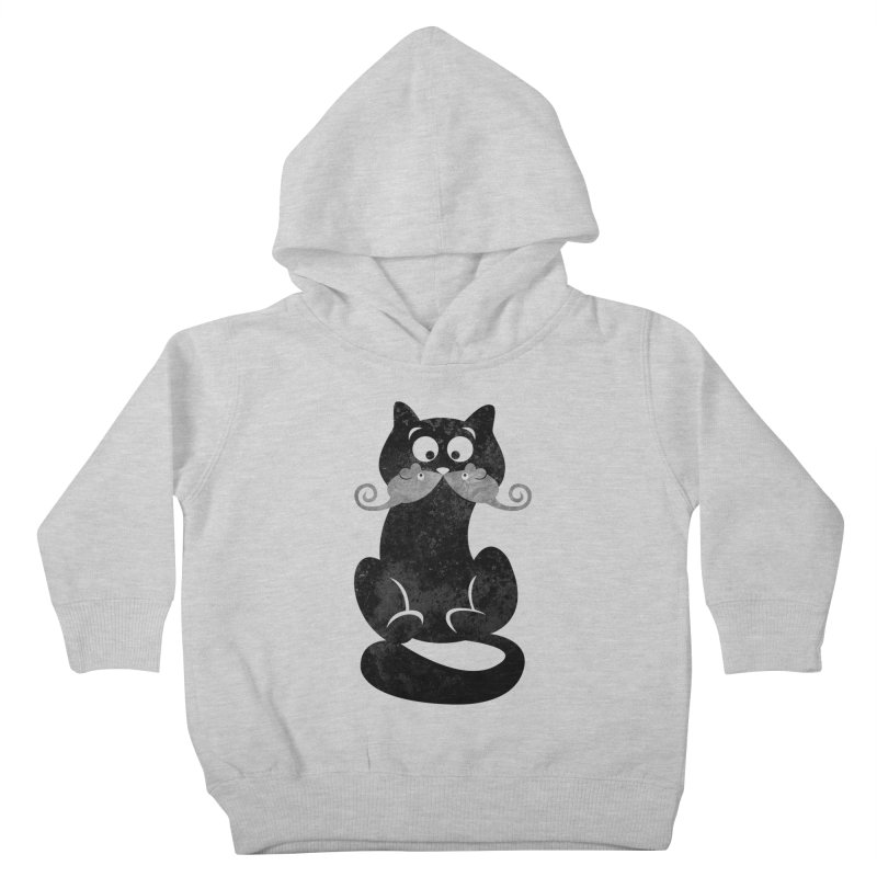 Mousetache Kids Toddler Pullover Hoody by Joe Conde