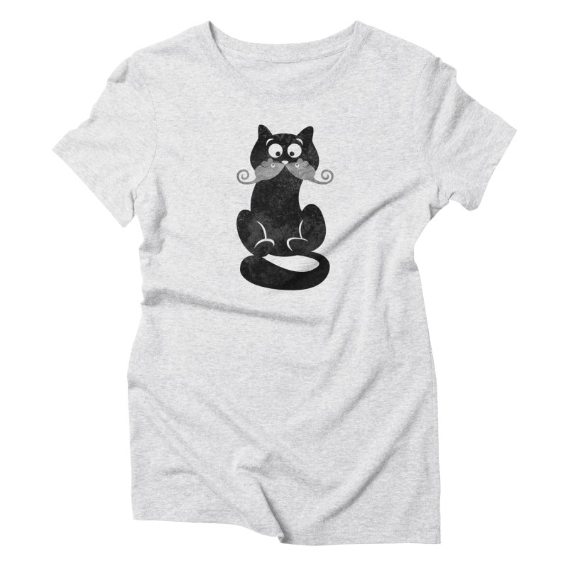 Mousetache Women's T-Shirt by Joe Conde