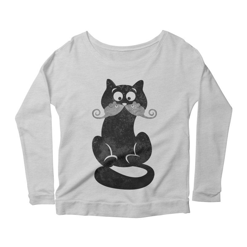Mousetache Women's Longsleeve T-Shirt by Joe Conde