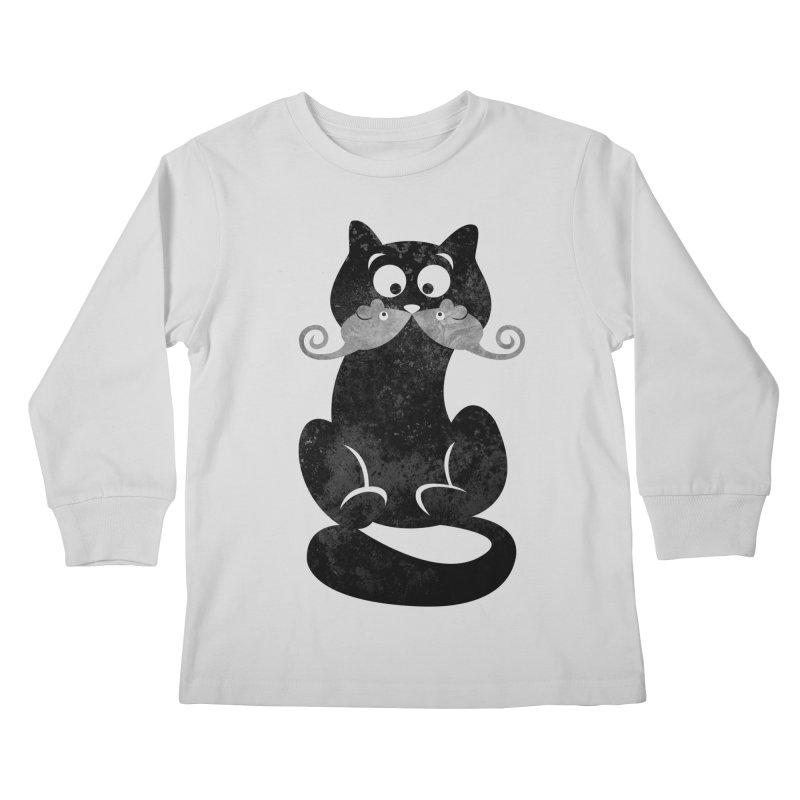 Mousetache Kids Longsleeve T-Shirt by Joe Conde
