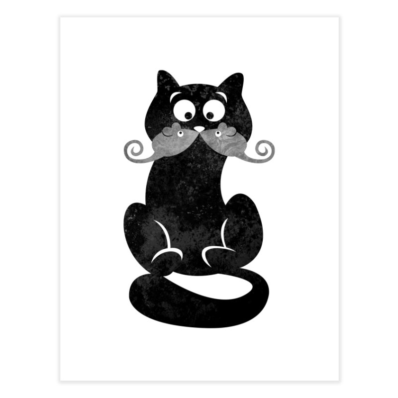 Mousetache Home Fine Art Print by Joe Conde