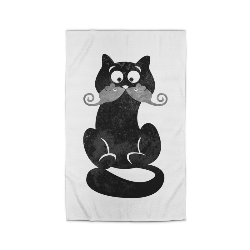 Mousetache Home Rug by Joe Conde