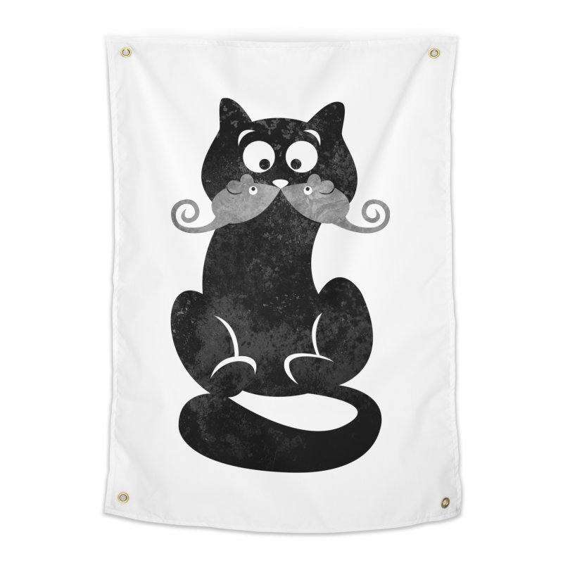 Mousetache Home Tapestry by Joe Conde