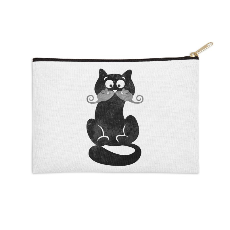 Mousetache Accessories Zip Pouch by Joe Conde
