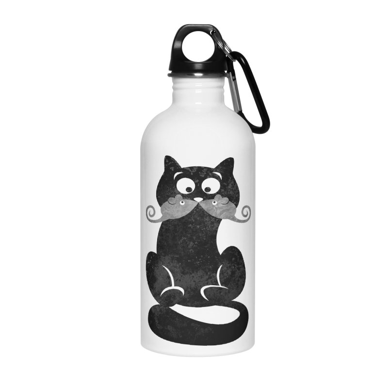 Mousetache Accessories Water Bottle by Joe Conde