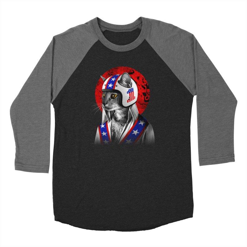 Evel Katneivel Women's Longsleeve T-Shirt by Joe Conde