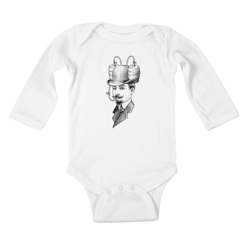 Sports Fan Kids Baby Longsleeve Bodysuit by Joe Conde