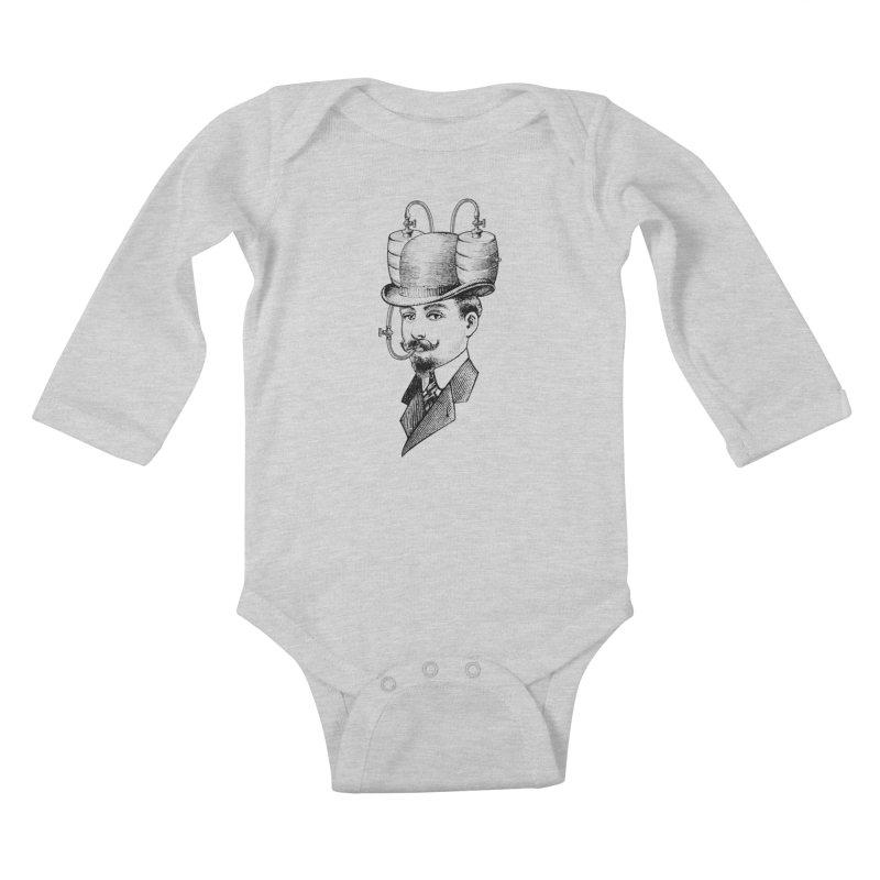Sports Fan Kids Baby Longsleeve Bodysuit by Joe Conde