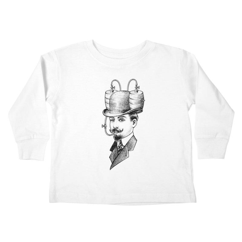 Sports Fan Kids Toddler Longsleeve T-Shirt by Joe Conde