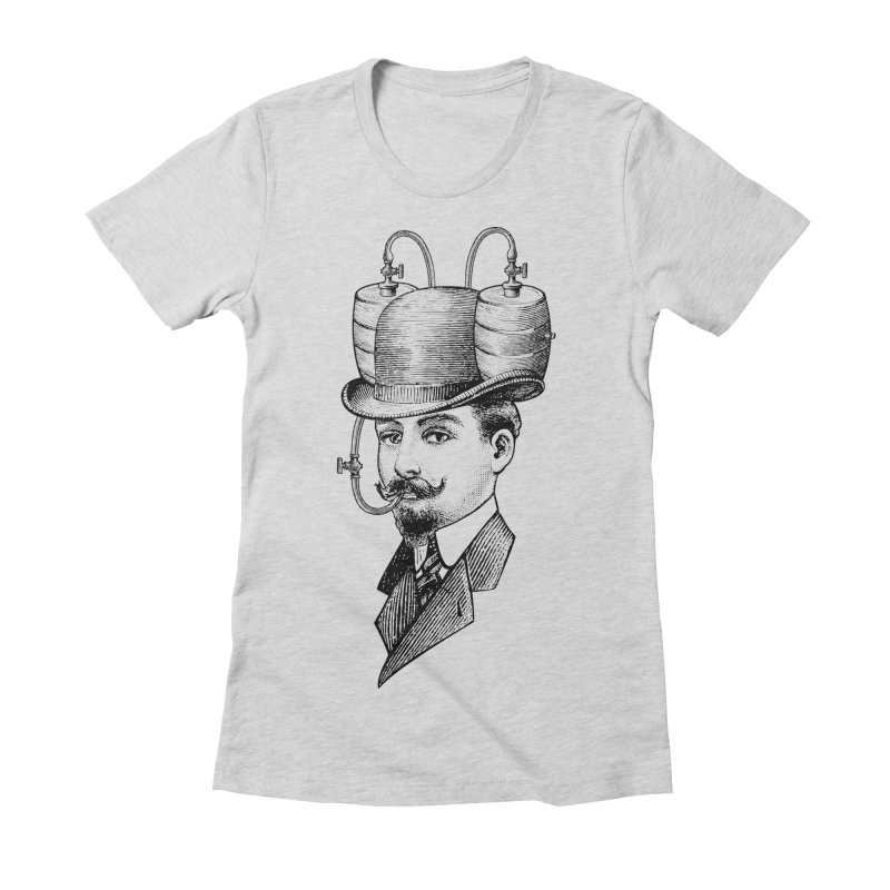 Sports Fan Women's Fitted T-Shirt by Joe Conde