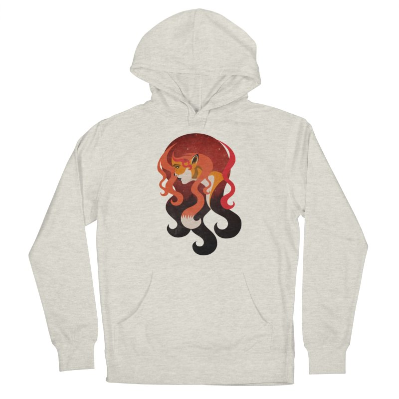 The Fox Men's Pullover Hoody by Joe Conde