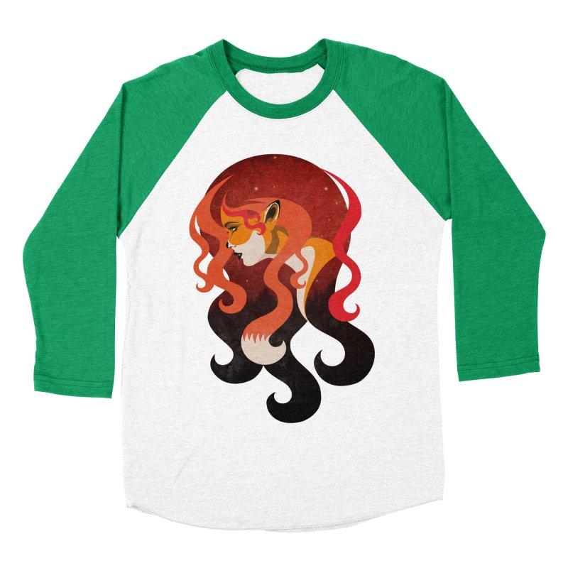 The Fox Women's Baseball Triblend T-Shirt by Joe Conde
