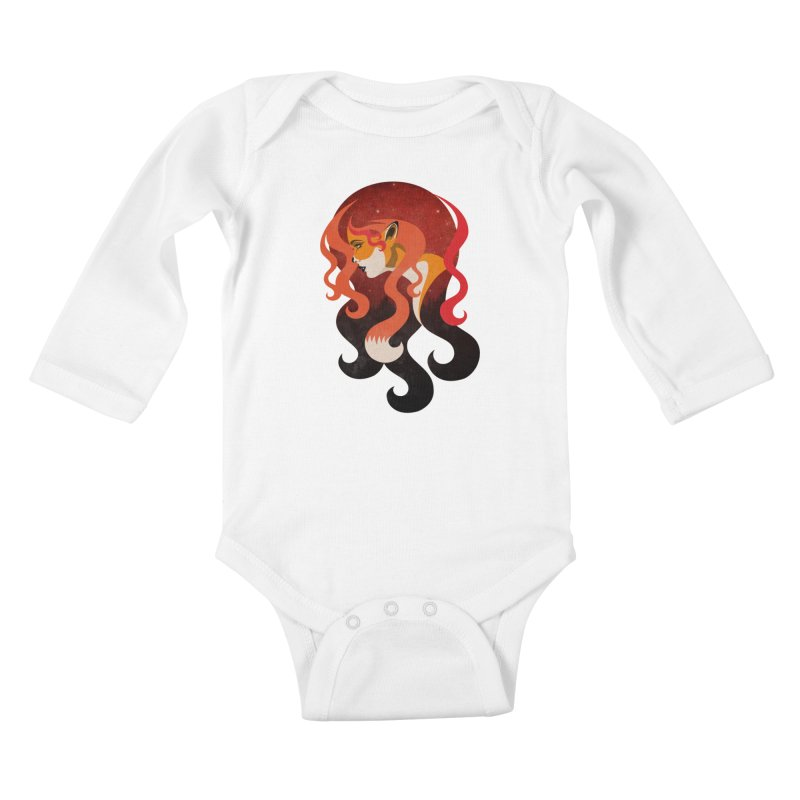 The Fox Kids Baby Longsleeve Bodysuit by Joe Conde