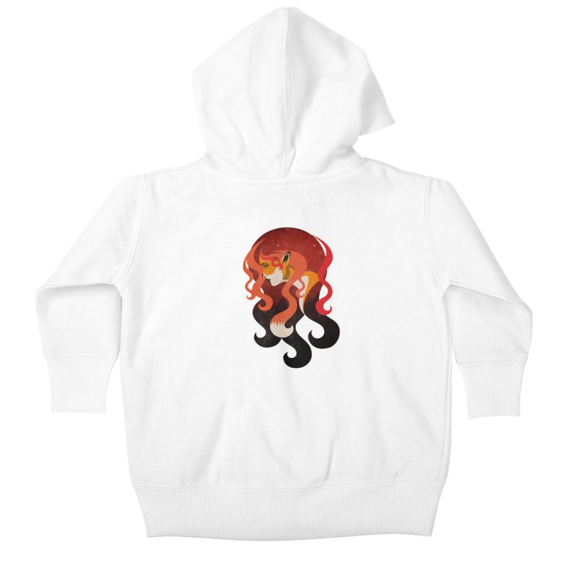 The Fox Kids Baby Zip-Up Hoody by Joe Conde