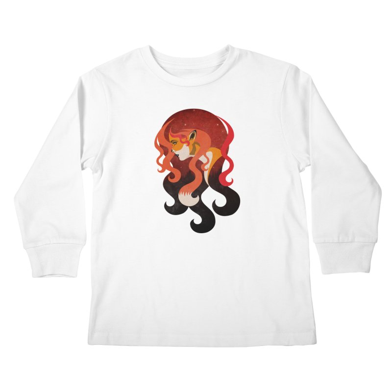 The Fox Kids Longsleeve T-Shirt by Joe Conde
