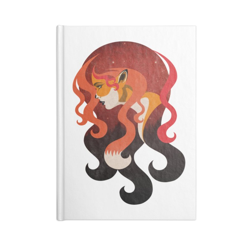 The Fox Accessories Notebook by Joe Conde
