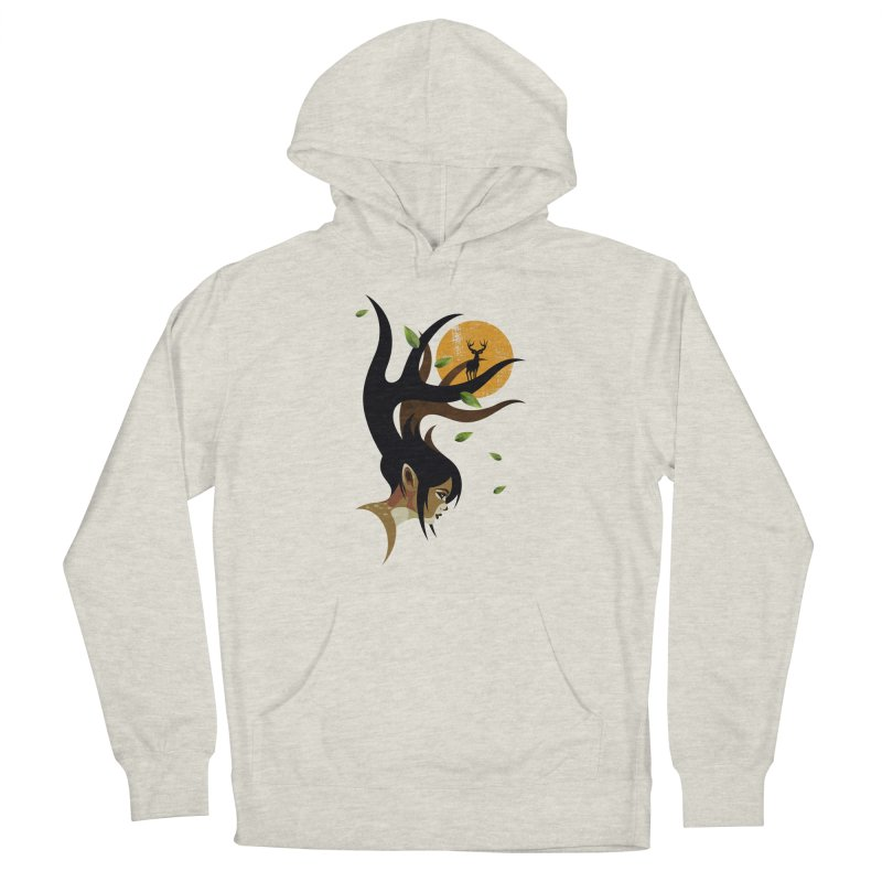 The Doe Women's French Terry Pullover Hoody by Joe Conde