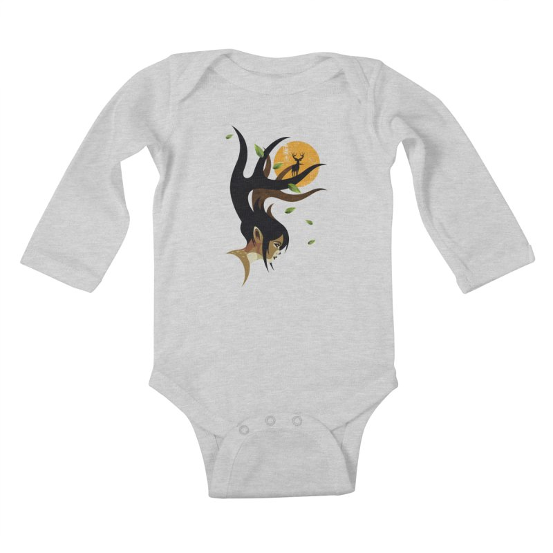 The Doe Kids Baby Longsleeve Bodysuit by Joe Conde