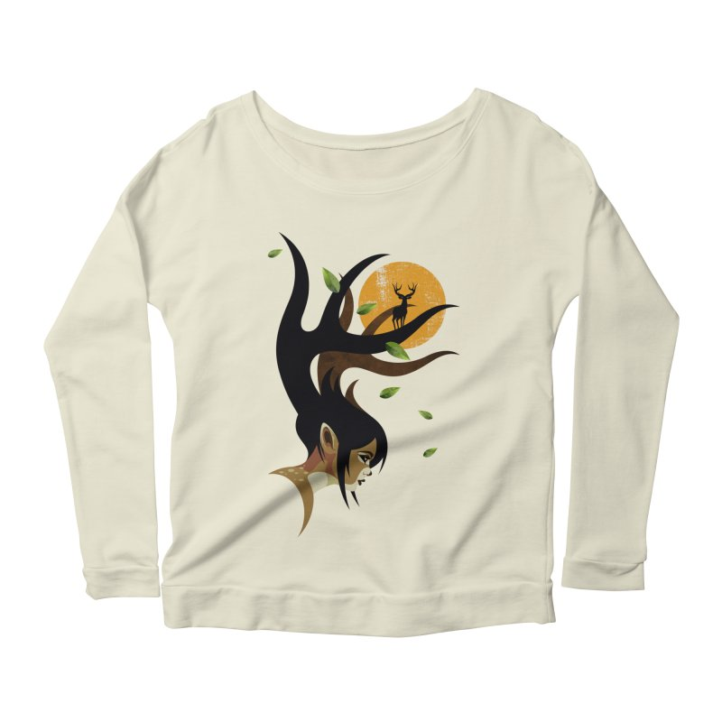The Doe Women's Scoop Neck Longsleeve T-Shirt by Joe Conde