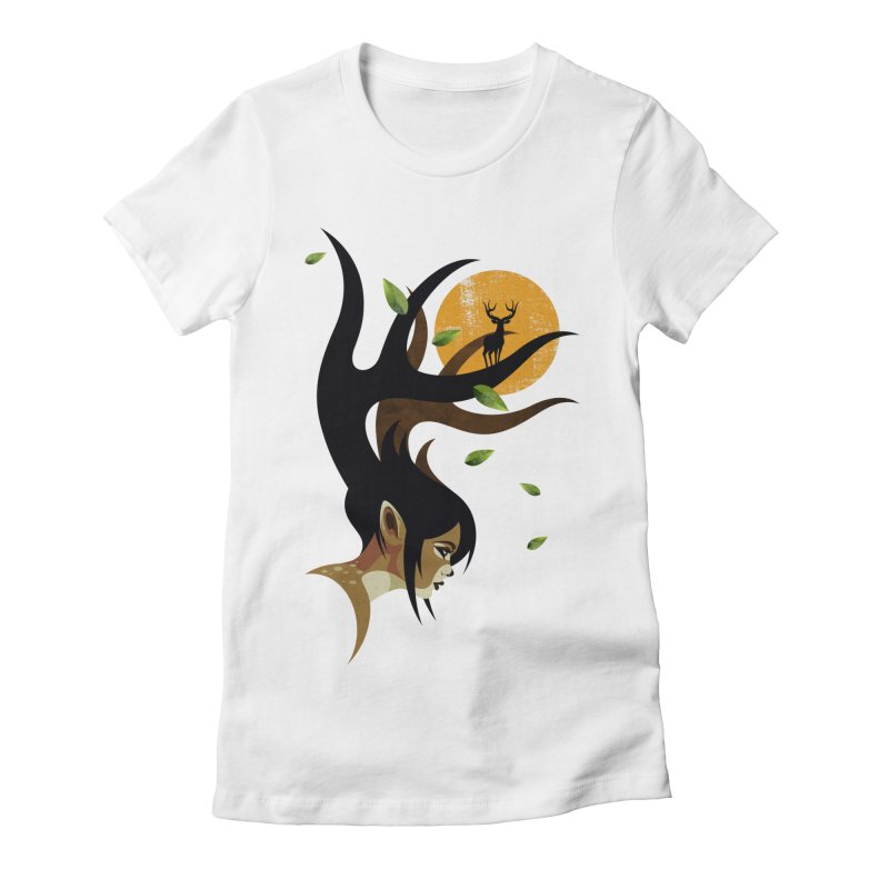 The Doe Women's Fitted T-Shirt by Joe Conde